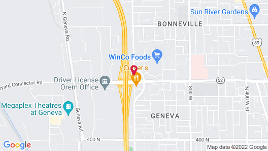 TownePlace Suites by Marriott Orem Map