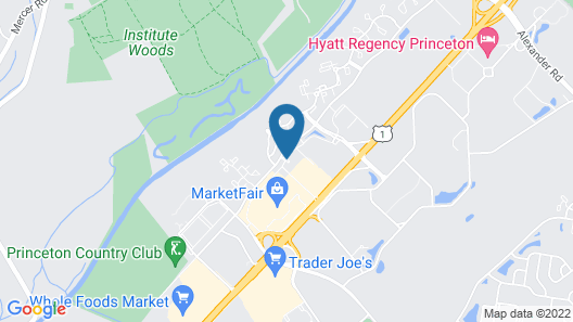 Residence Inn by Marriott Princeton at Carnegie Center Map