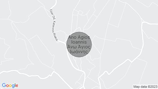 Katerini Holiday House Map