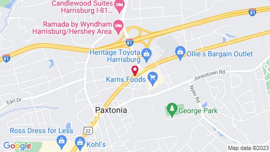 Baymont by Wyndham Harrisburg Map