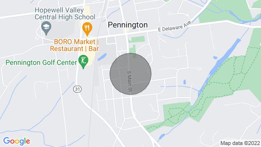 16+ Manison in the Heart of Pennington Map