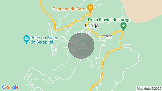 Casa da Carvalha - Loriga Map