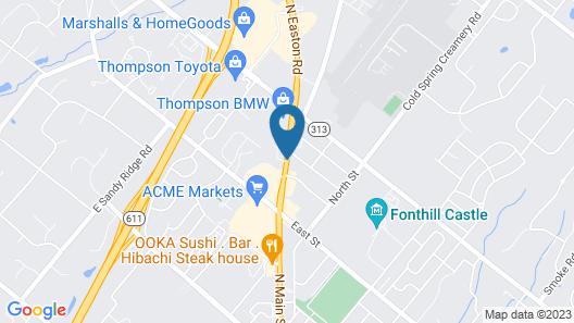 Mainstreet Inn Map