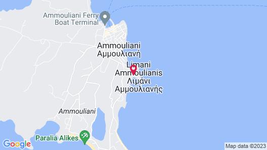 Agionissi Resort Hotel Map