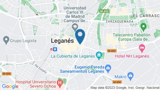 TRYP Madrid Leganés Hotel Map
