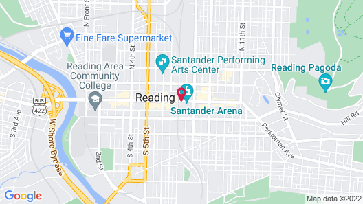 Doubletree By Hilton Reading Map