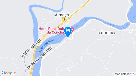 Hotel Rural Quinta da Conchada Map