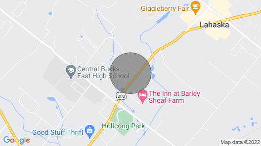 Ash Mill Farm Bed & Breakfast Map