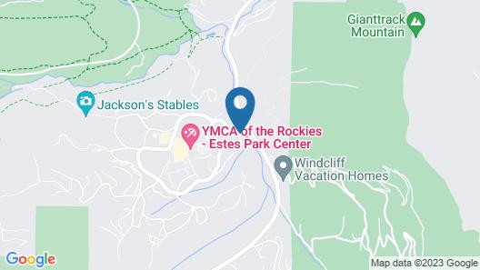 YMCA of The Rockies Estes Park Map