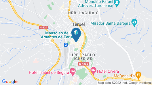 Apartamento Centro Historico de Teruel Map