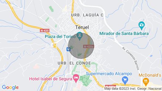G Rentals Apartamento San Juan 2 Map