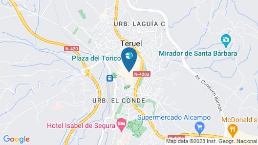 G Rentals Apartamentos San Juan Map