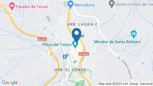 Hotel Palacio La Marquesa Map