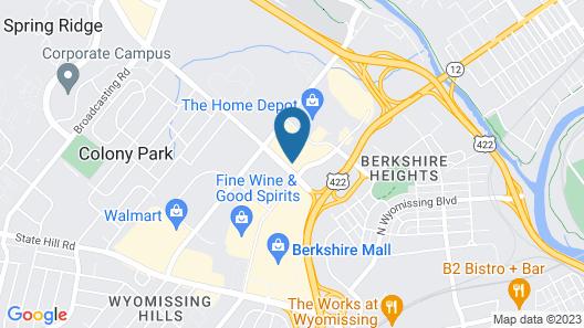 Crowne Plaza Hotel Reading, an IHG Hotel Map