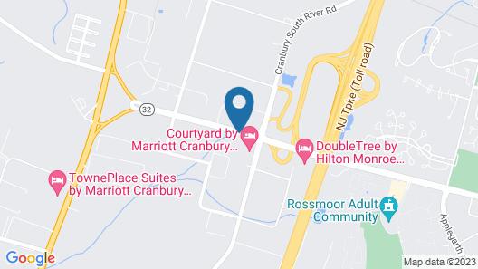Courtyard by Marriott Cranbury South Brunswick Map