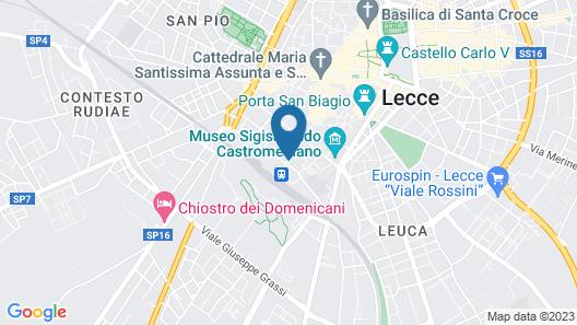 Grand Hotel di Lecce Map