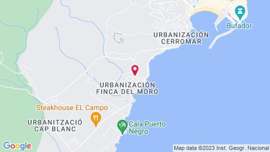 Apartamento Monte Pichells 1 y 2 Map