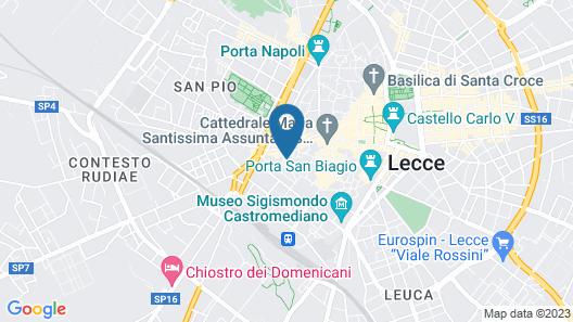 Palazzo Sant'Anna Lecce Map