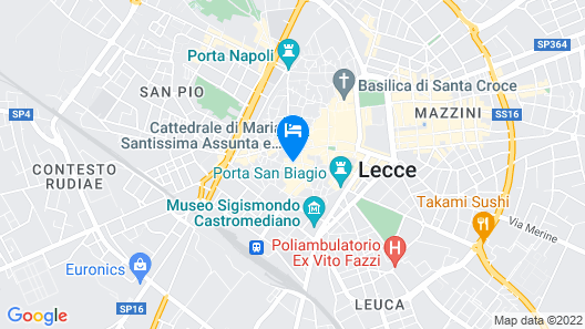 Palazzo Sambiasi Map