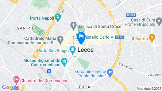 La Dimora Dei Celestini Map