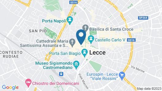 Suite Hotel Santa Chiara Map
