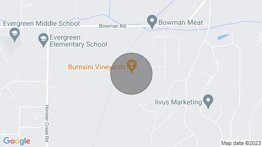 New! Wine Lovers Retreat in Burnsini Vineyards! Map