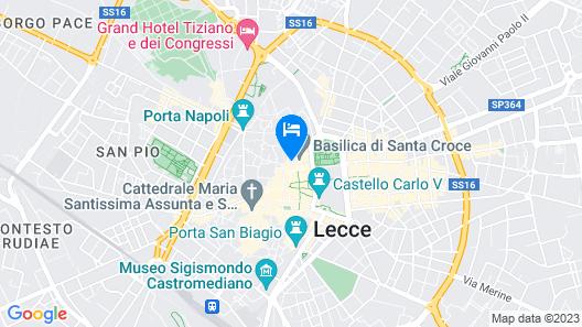 Patria Palace Hotel Lecce Map