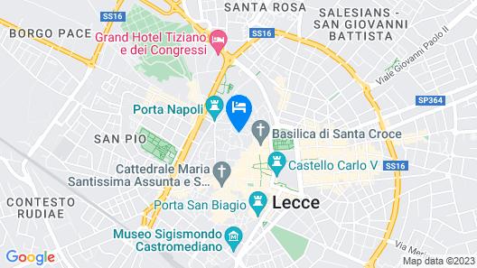 B&B Palazzo Gorgoni Map