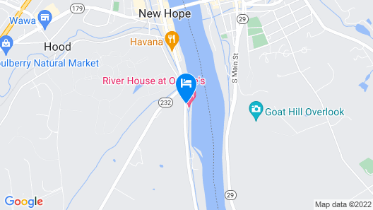 River House at Odette's Map