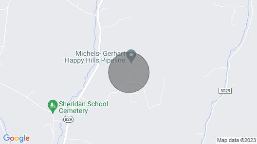 Raystown Lake, Huntingdon, 1000 Steps, Penn State, Caverns, Hunt Fish Hike Woods Map