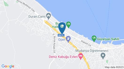 Araz Apart Mudanya Map