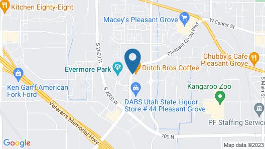Hyatt House Provo/ Pleasant Grove Map