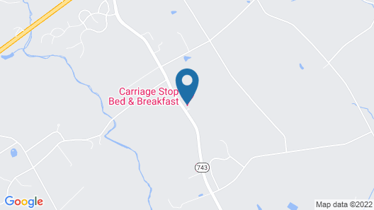 Carriage Stop Bed & Breakfast Map