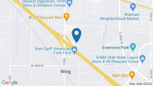 Holiday Inn Express & Suites American Fork - North Provo, an IHG Hotel Map