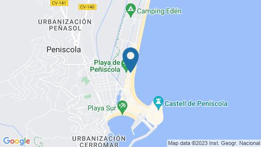 Servigroup Papa Luna Map