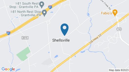 Hershey Park Hershey Pa Harrisburg Pa Farm Show Hollywood Casino Map