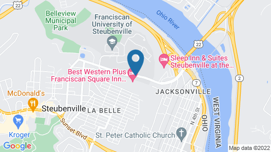 Best Western Plus Franciscan Square Inn and Suites Map