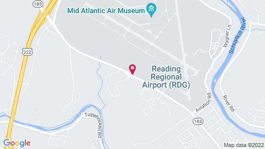 Holiday Inn Express And Suites Reading, an IHG Hotel Map
