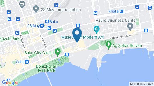 Holiday Inn Baku, an IHG Hotel Map