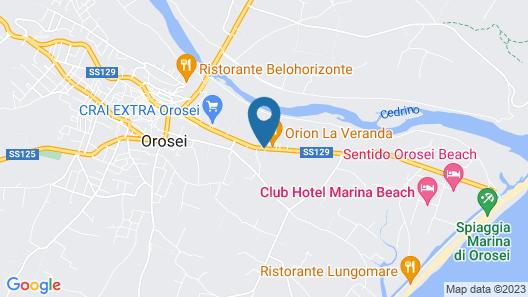 Hotel Baia Marina Map