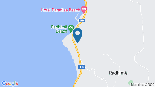 Hotel Sirena Map