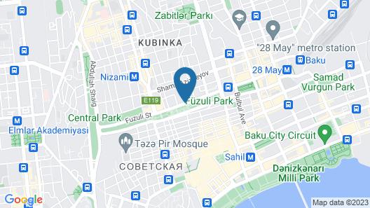Courtyard by Marriott Baku Map