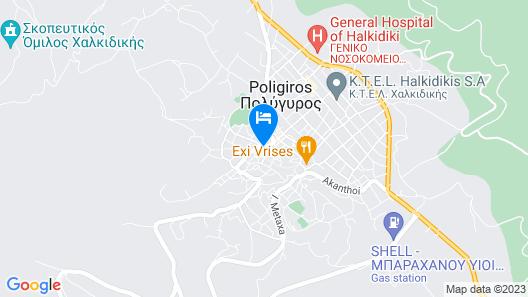 Hotel Marelia Map