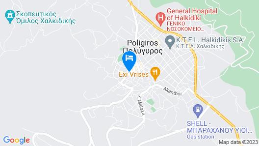 Michalis Apartments Map