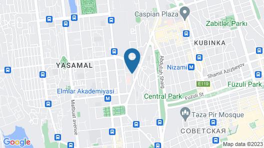 Point Hotel Baku Map