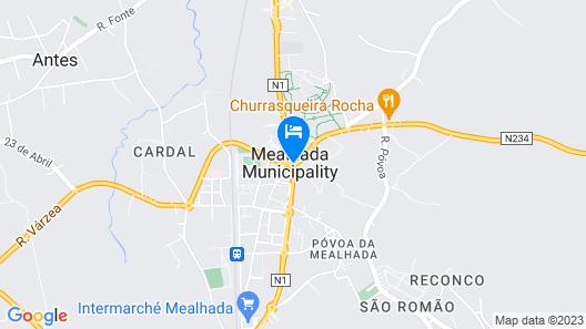 Quinta dos Três Pinheiros Map