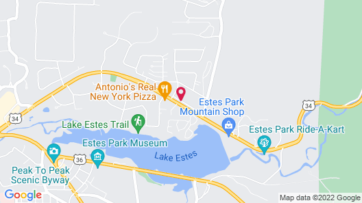 Rocky Mountain Hotel & Conference Center Map