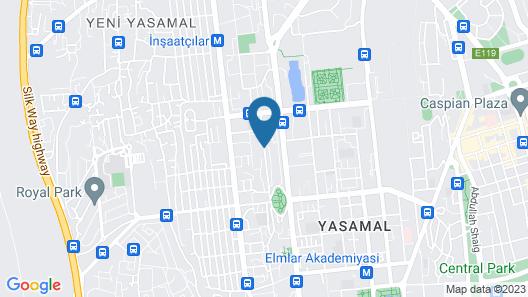 ART Hotel Baku Map