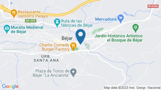 Apartamentos Valdesierra II Map