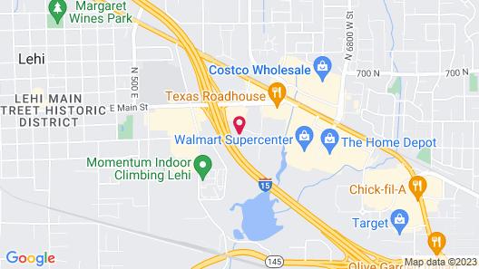 Motel 6 Lehi, UT - Salt Lake City South Map